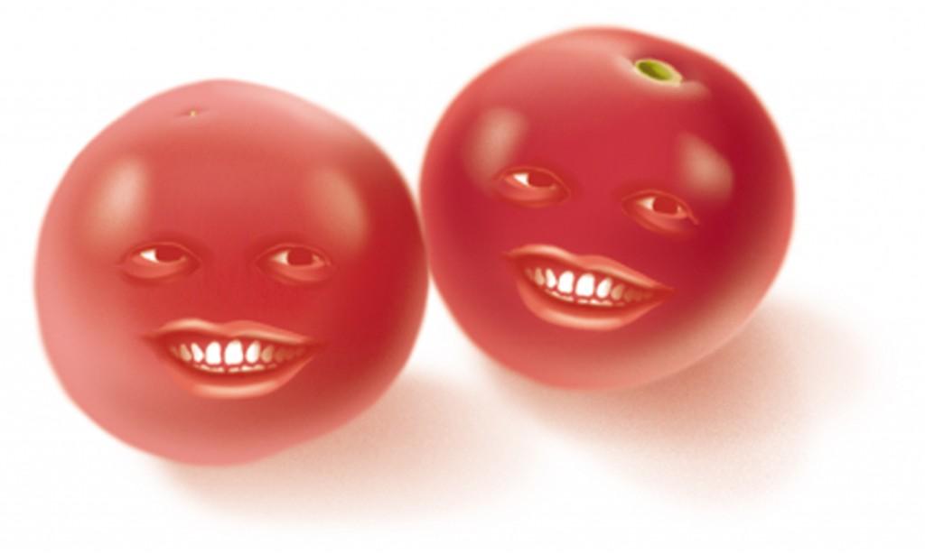 Cheery Tomatoes. Adobe Illustrator. August 2015.